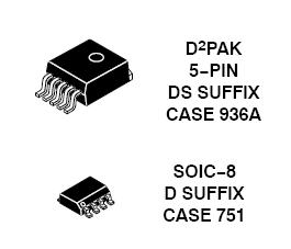 NCV8665 LDO稳压器 150 mA 低压...