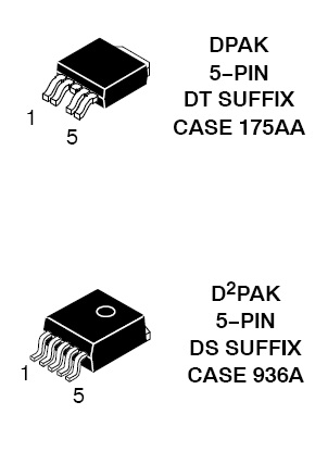 NCV4275C LDO稳压器 450 mA 低压差