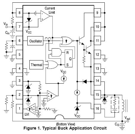 NCP3163 降压/升压/反相稳压器 开关 3...