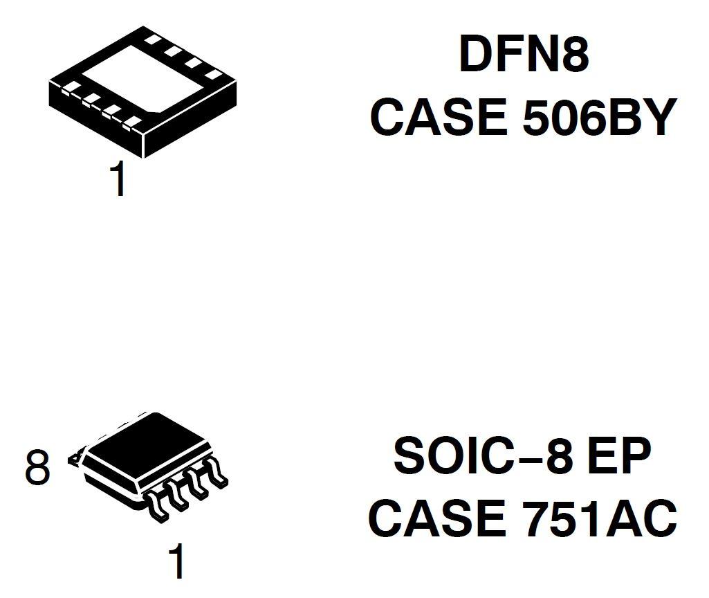 NCV890100 汽車開關穩壓器 降壓 1.2 A 2 MHz
