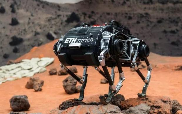 """苏黎世理工研发四足登月机器人,探索低重力环境下的""""动态行走"""""""