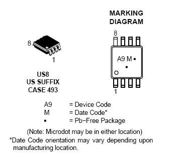 NLAS325 雙通道SPST模擬開關 單電源
