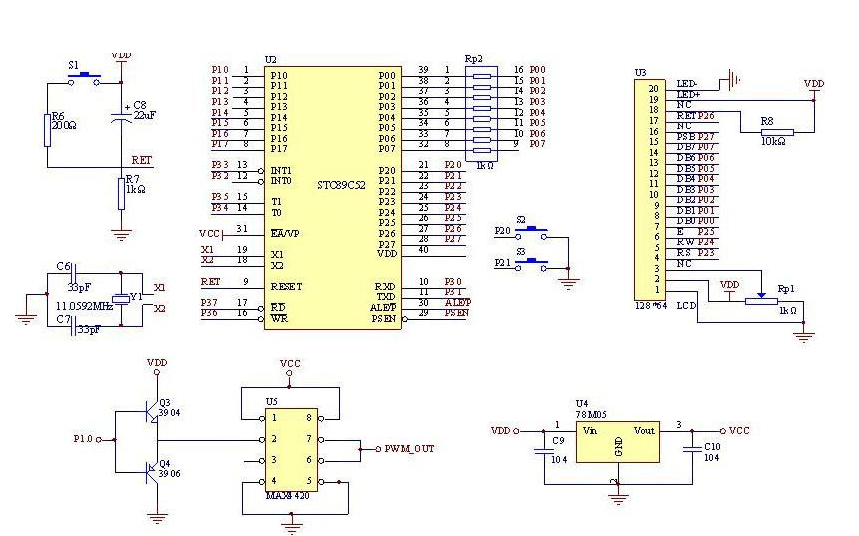 使用STM8单片机控制LED的程序和工程文件免费下载