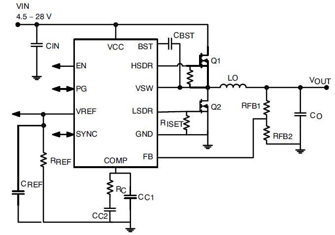 NCP3011 同步PWM控制器