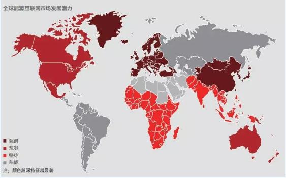 中国能源互联网�K的发展从追赶到超越已实现了全球〗领先