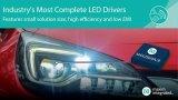 Maxim发布新型LED驱动器,内置MOSFET,效率高达90%