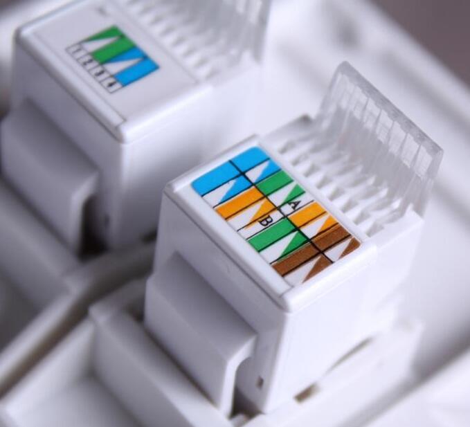 网线面板如何接线_网线面板接法图解