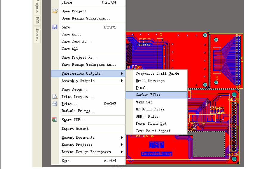 Altium Designer 6输出Gerber文件的详细资料说明