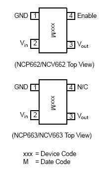 NCV663 LDO稳压器 100 mA 超低Iq