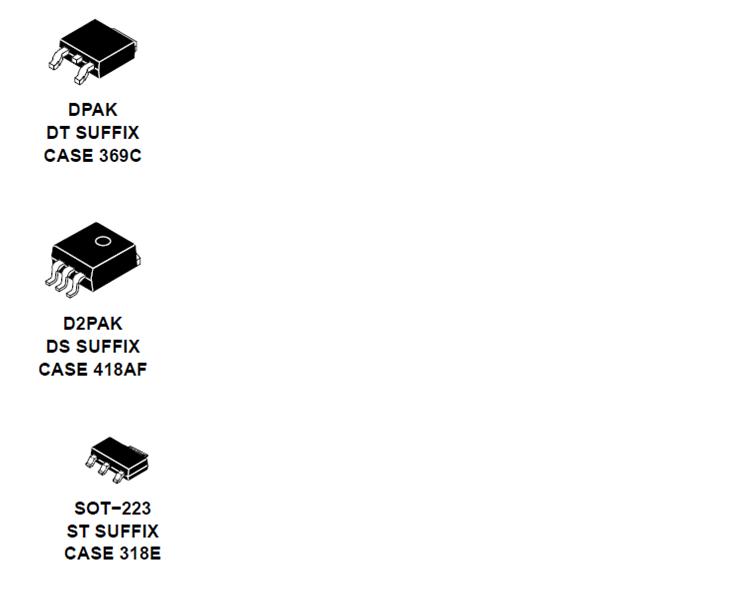 NCV4274C LDO稳压器 400 mA 低压差
