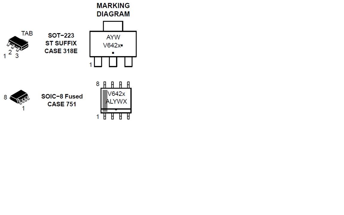 NCV4264-2 LDO稳压器 100 mA 低Iq 高PSRR