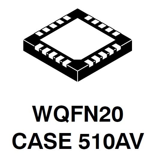 NCP6922C LDO稳压器 双通道 4通道PMIC 双DC-DC转换器