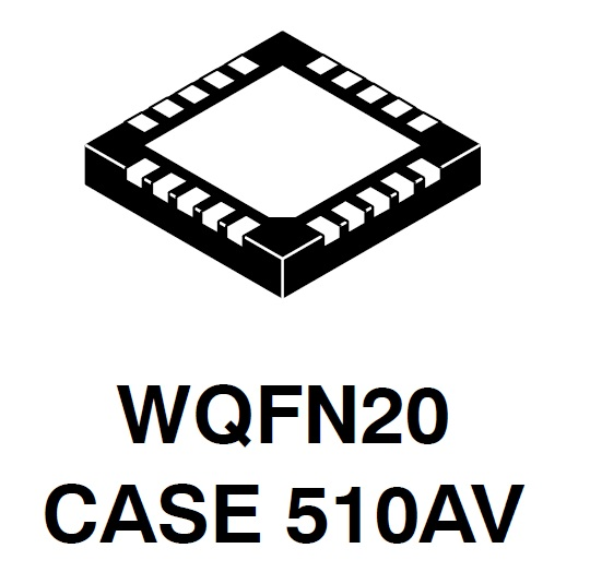 NCP6922C LDO稳压器 双通道 4通道P...