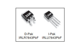 IRLR7843PbF和IRLU7843PbF功率MOSFET的數據手冊免費下載