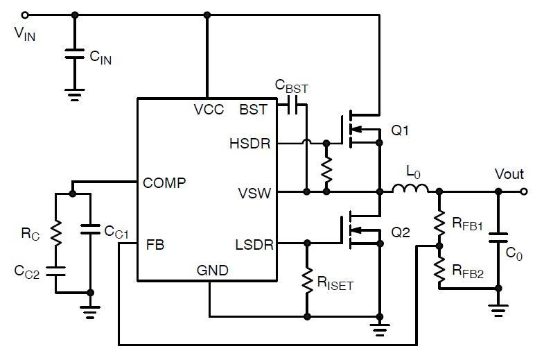 NCP3030 同步PWM控制器