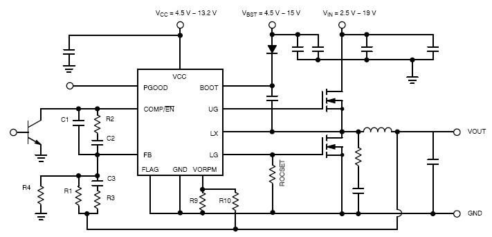 NCP1589D 同步降壓控制器