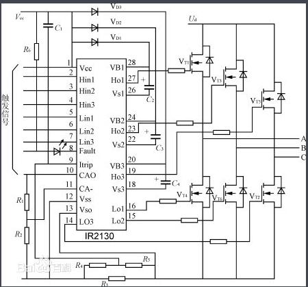 电压型逆变电路的特点