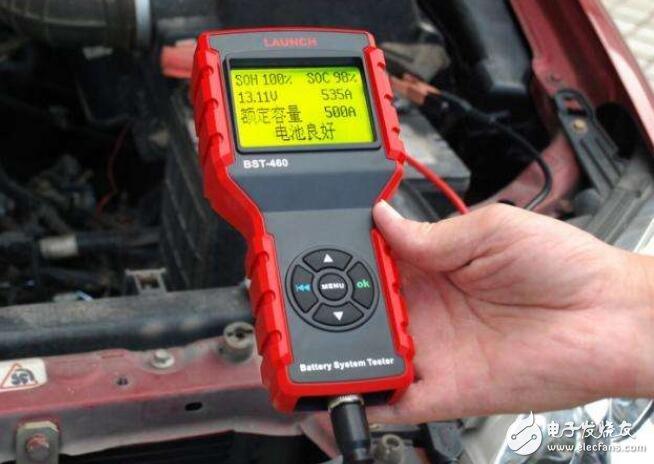 蓄电池检测仪使用教程_蓄电池检测仪测量什么