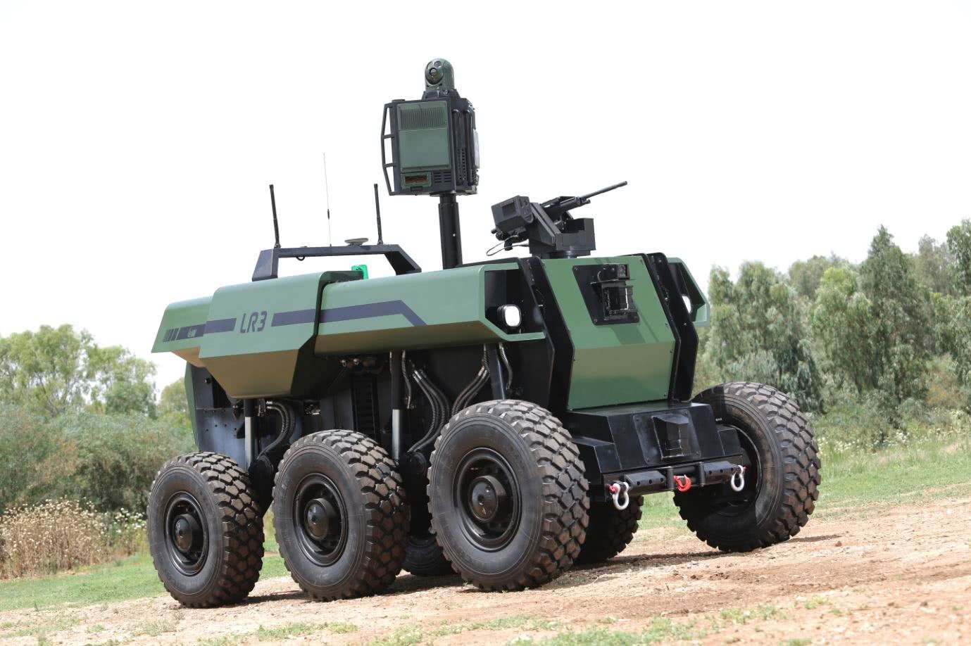 美国计划从2020开始测试机器人作战车