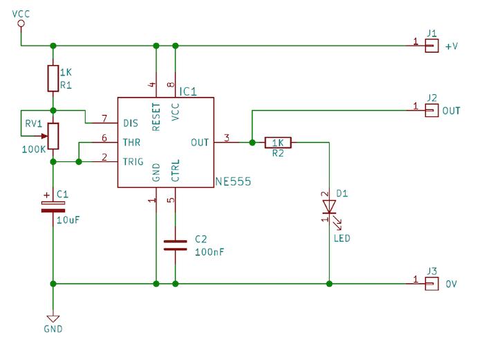 如何用555IC制造一个非常稳定的振荡器