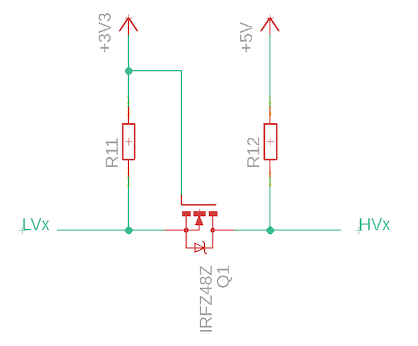 怎样用双向逻辑电平转换器连接具有※不同最大电压的MCU和模块