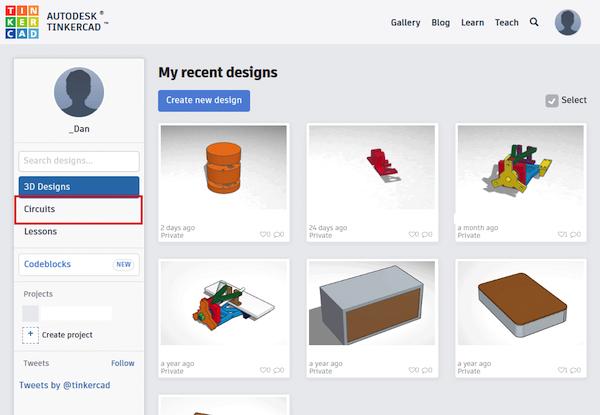 怎样用Tinkercad设计和测试简单电路