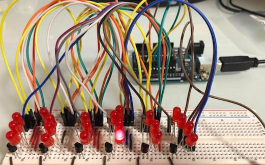 如何使用Arduino和LED矩阵构建简单的二进制时钟