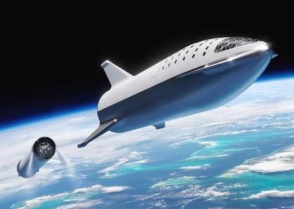 美国太空探索技术公司正在开发下一代重型运载火箭星舟
