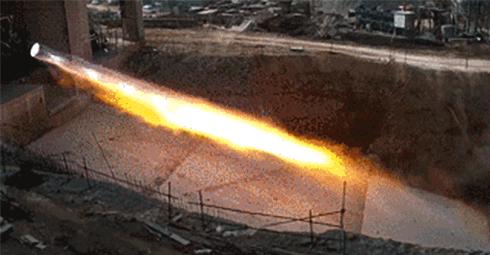 蓝箭航天成功完成了天鹊TQ-12液氧甲烷发动机100%推力试车验证