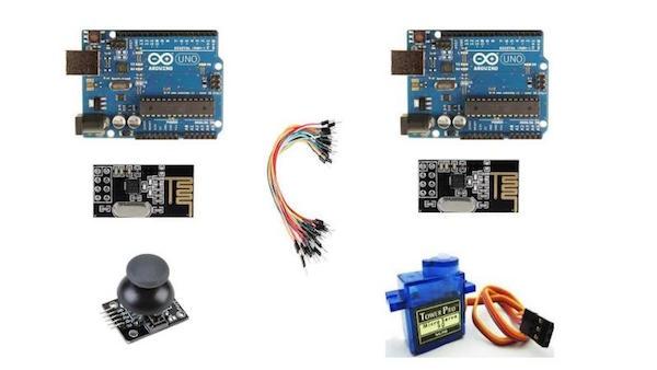 如何用Arduinos和NRF24L01模块创建发射器和接收器