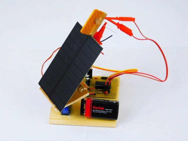 简易太阳能跟踪器制作教程