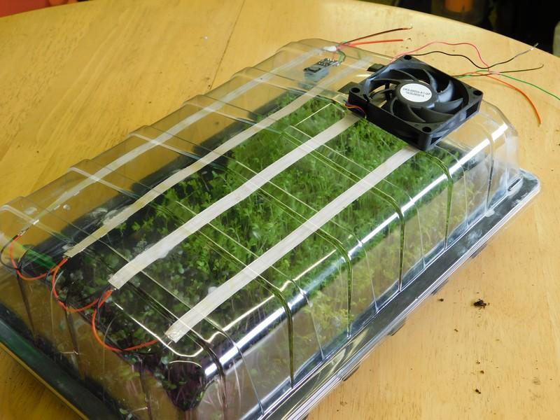 怎樣用微控制器和繼電器制作一個迷你溫室