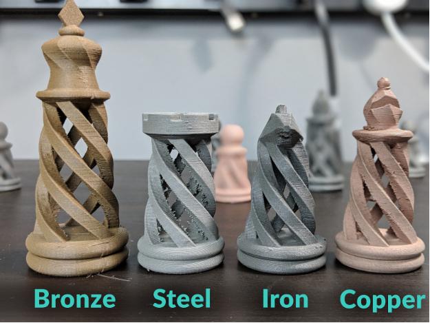 3D打印机不同材料打印出的质感有何不用