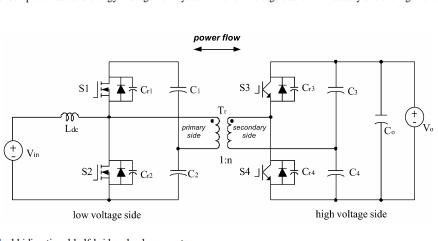 一種用于燃料電池和電池應用的新型ZVS雙向DC-DC變換器的資料說明