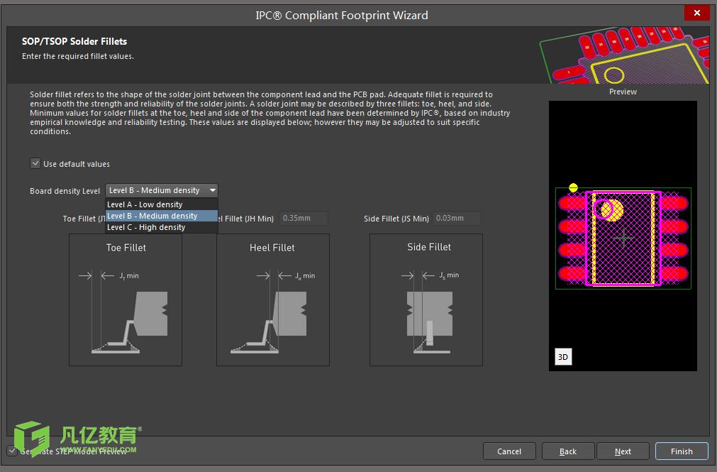 利用Altium Designer IPC封装向导创建PCB封装