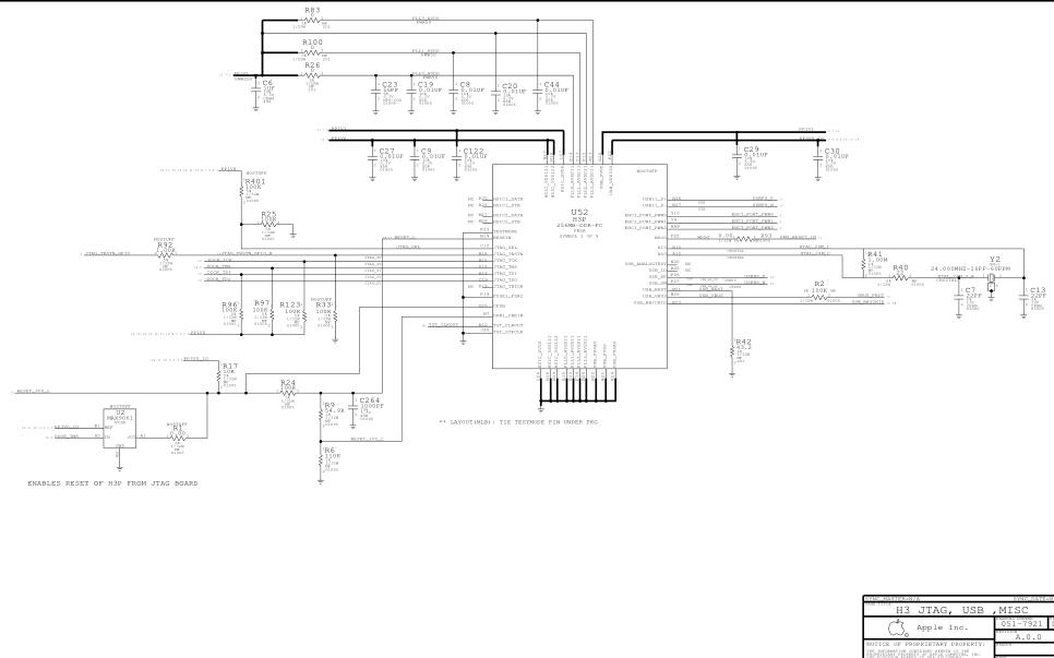 iphone4原厂完整的电路图和点位图资料合集免费下载