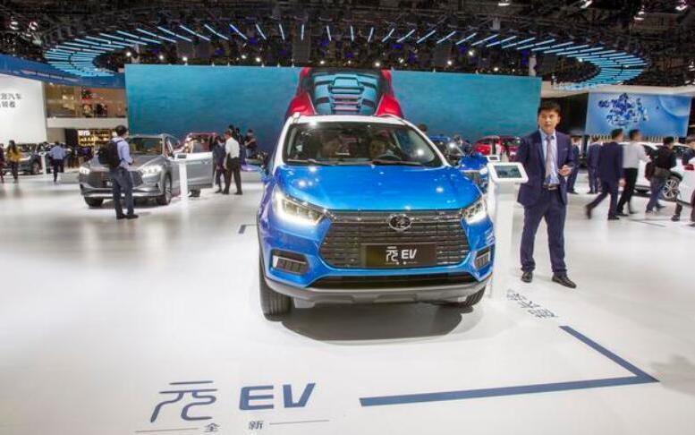 2019年上半年中国新能源车销量56.3万 比亚迪北汽领衔