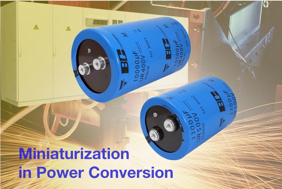 Vishay推小型螺絲接頭501 PGM-ST鋁電容器