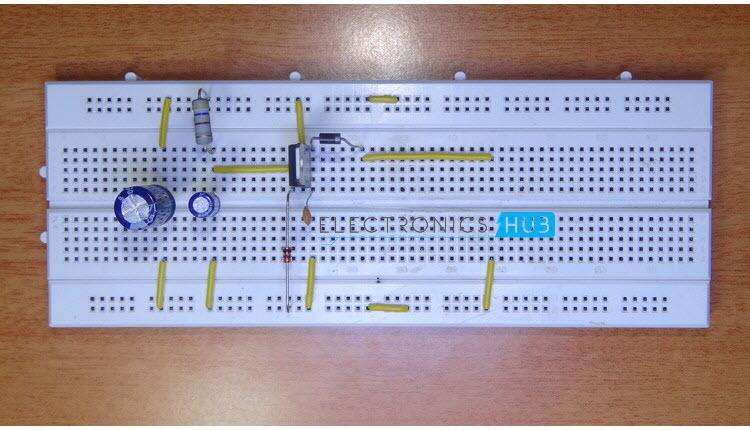 基于汽车电池的直流适配器制作教程