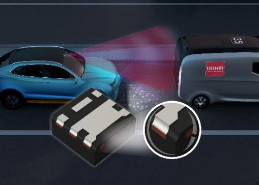 ROHM開發出1.6mm×1.6mm尺寸超小型車載用超小型MOSFET