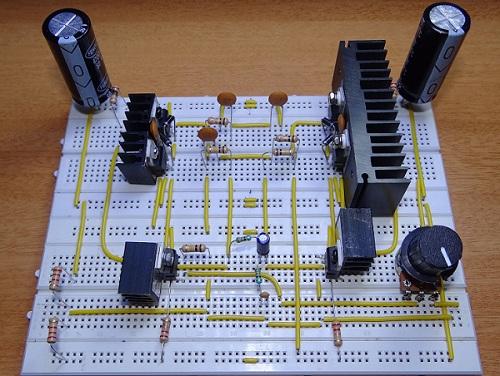 如何實現200W的音頻放大器