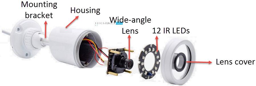 简易红外照明器电路DIY教程