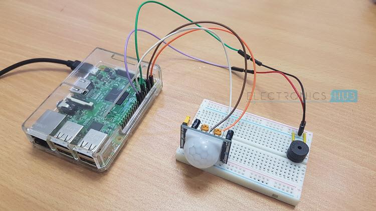 PIR传感器怎样与树莓派连接