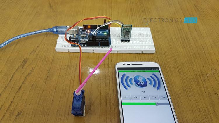 怎样用Arduino蓝牙控制伺服电机