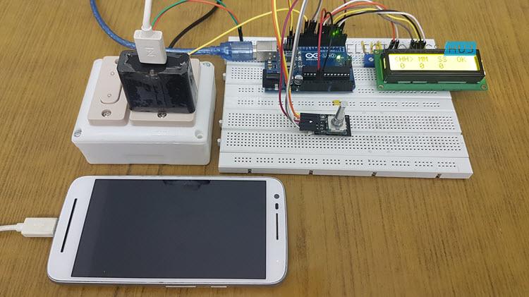基于Arduino的智能手机充电控制器制作教程