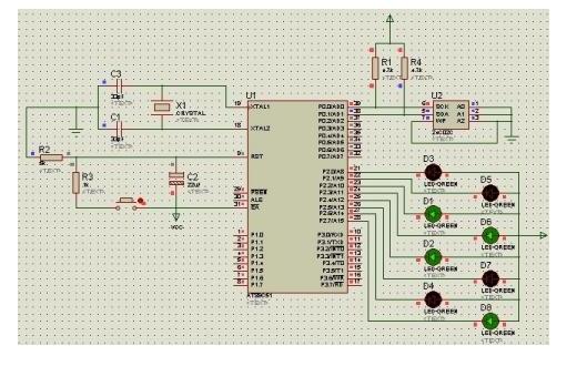 使用51單片機的IO口模擬I2C總線驅動AT24C16的資料和程序免費下載