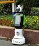 """非机动车、行人闯红灯屡禁不绝?""""小警""""机器人帮你注意安全!"""
