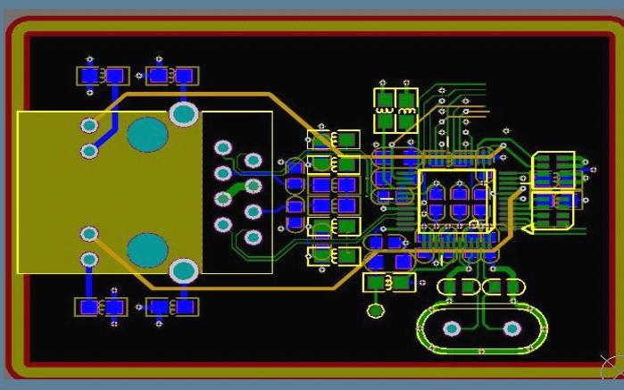 PCB的以太網常用模塊及接口設計的詳細資料說明