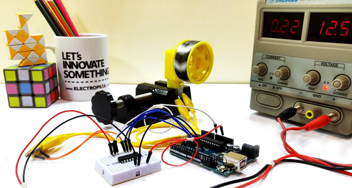 怎样通过Arduino和L293D控制伺服电机
