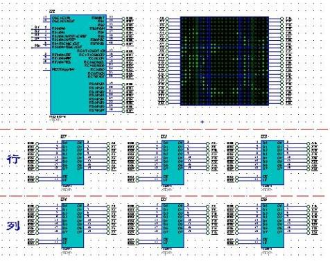 PIC16F877A單片機對24X24點點陣屏的驅動設計